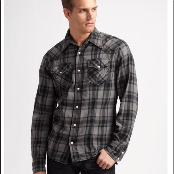 7cddf3456 True Religion Western Style Shirt! M 5add3373a4c4851efaaa4f3d. Other Shirts  ...
